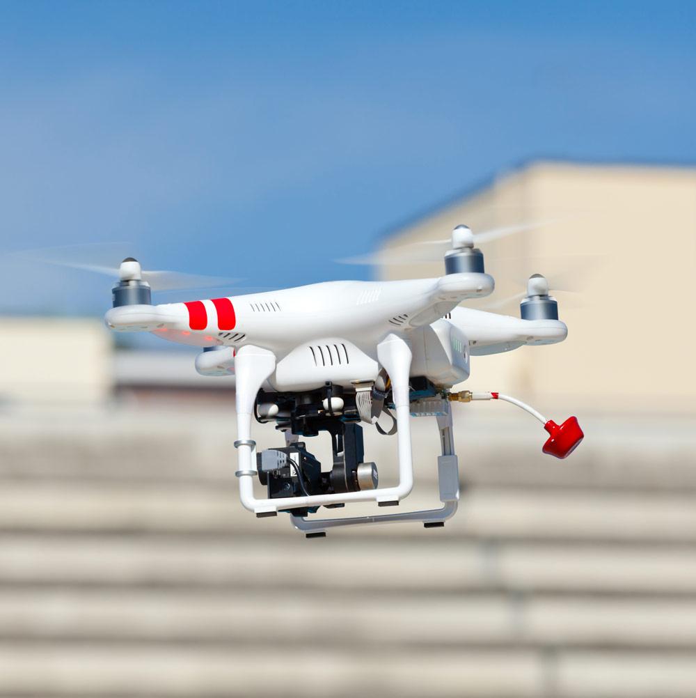 Rilievi per manutenzione con drone synthesis