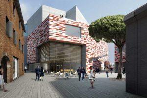 Rivestimento museo del 900 con facciate ventilate in terracotta smaltata