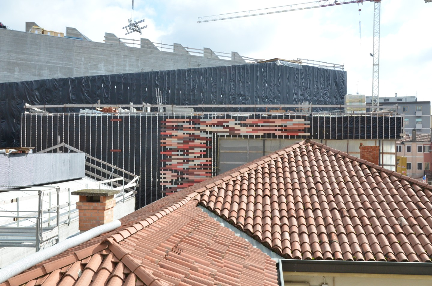 Facciate ventilate con tavelle in terracotta