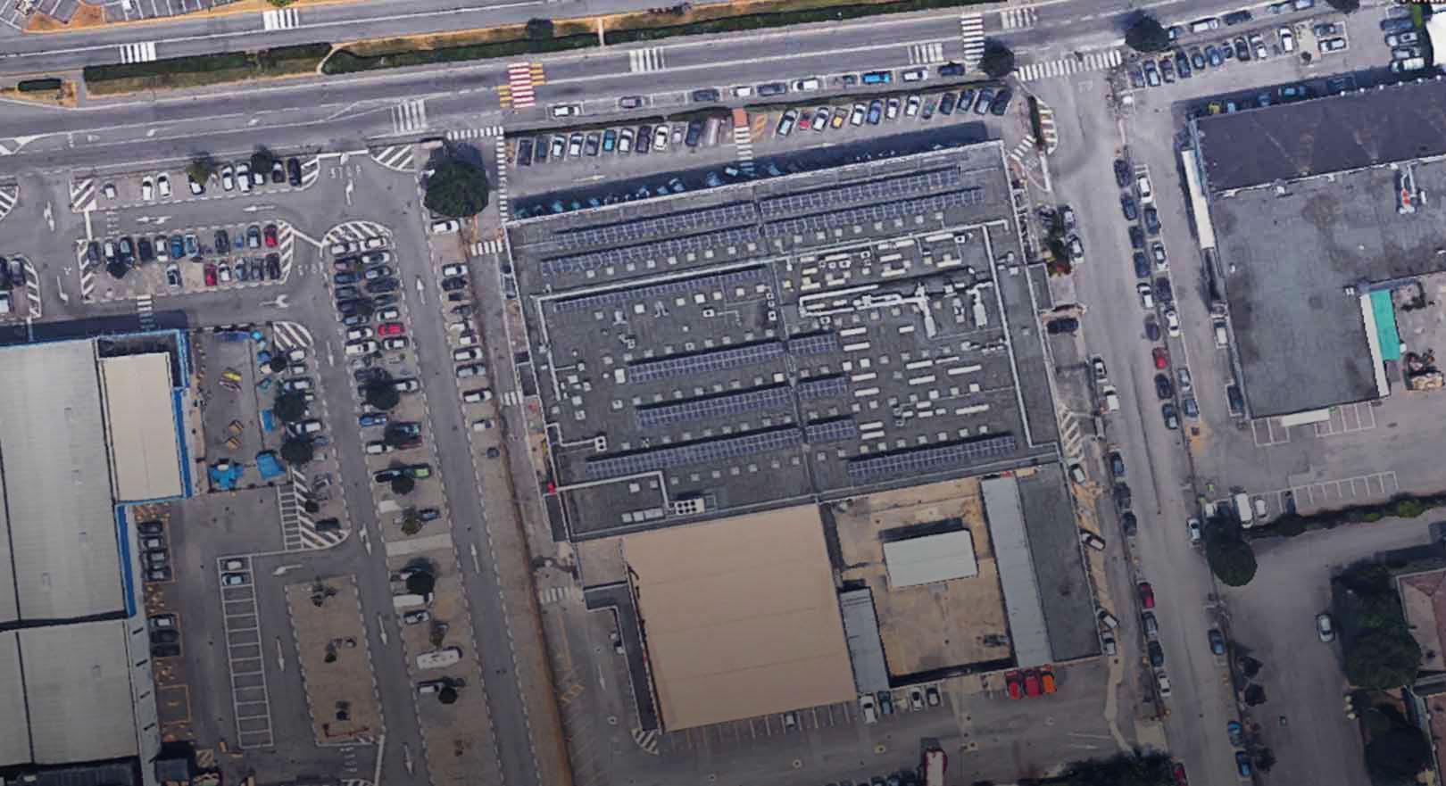 Rivestimento centro commerciale Bergamo