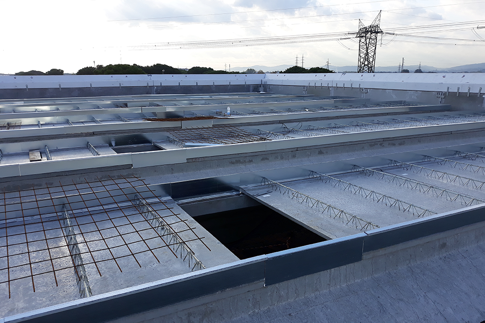 nuove coperture capannone industriale