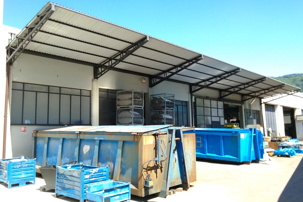 rivestimenti esterni per capannoni industriali